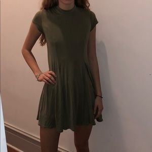 Green Dress Urban Outfitters